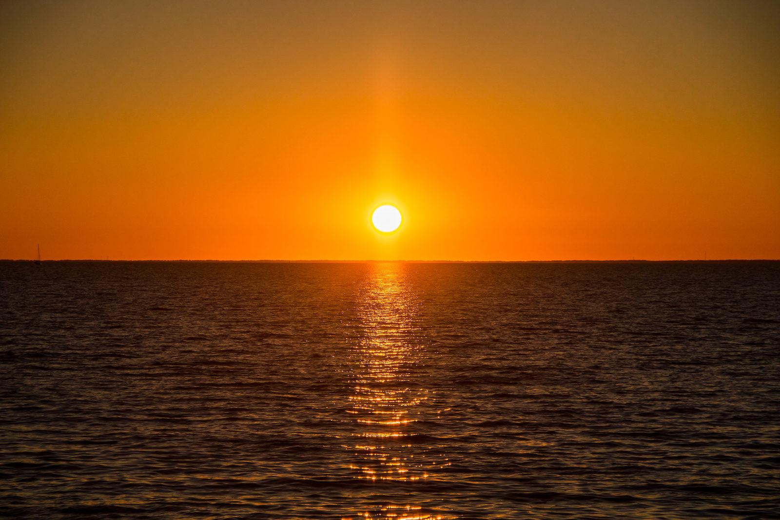 Sunset in Fairhope, AL