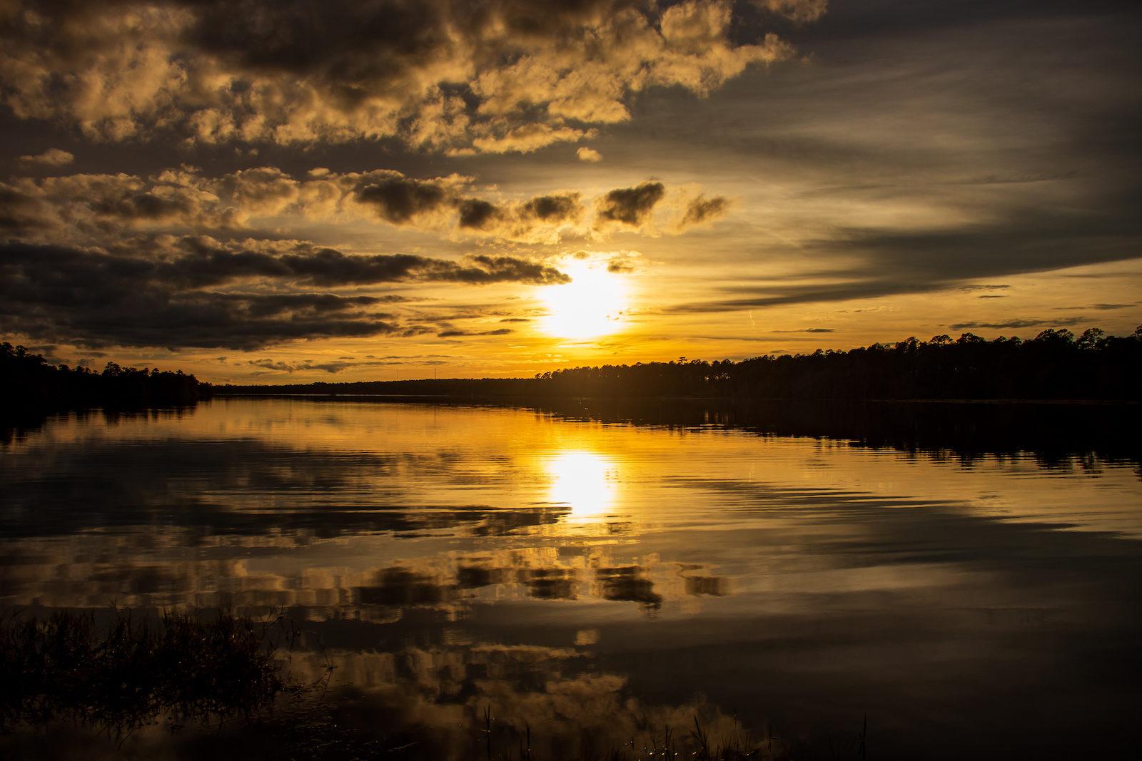 Almost sunset on Big Creek Lake