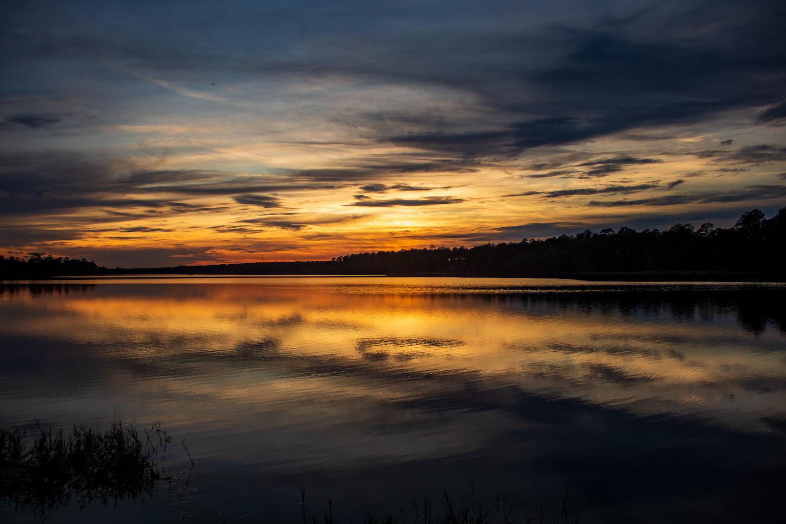 Post sunset at Big Creek Lake