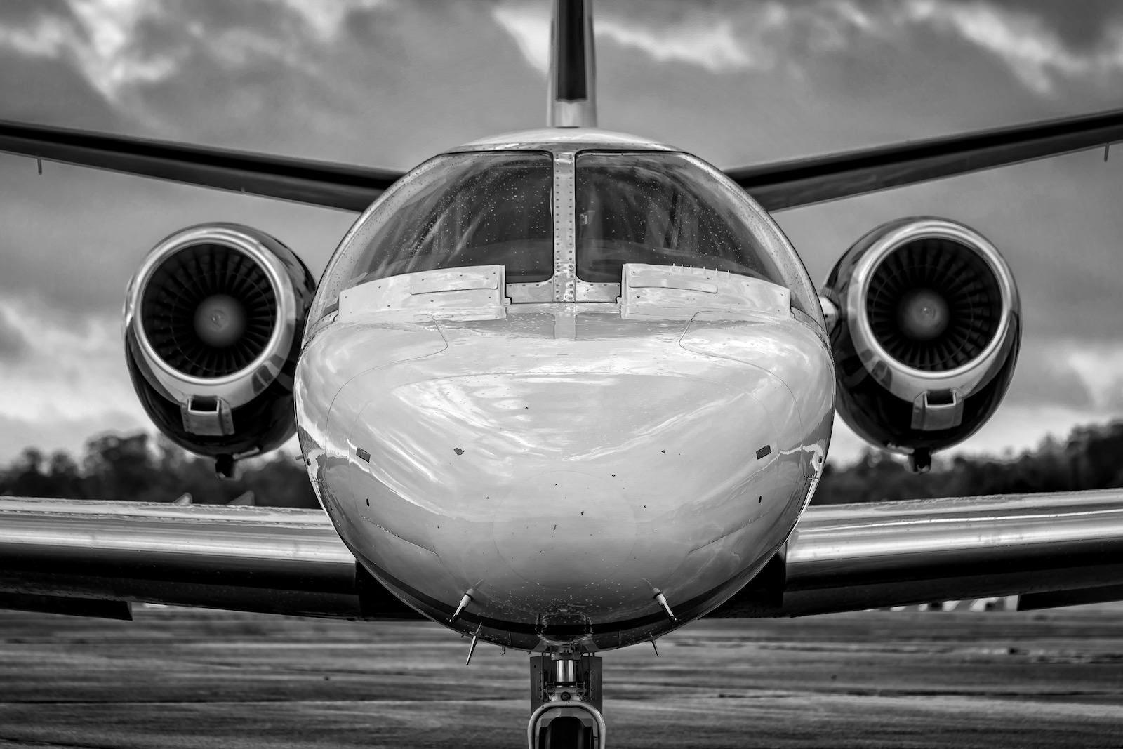 Cessna Citation 550 at BFM