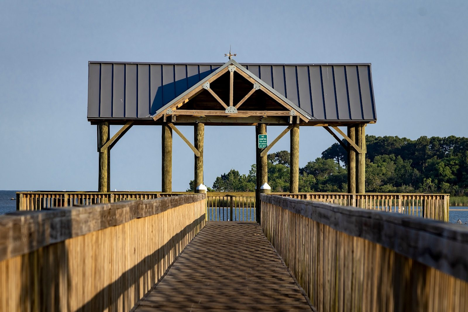 Arlington Park pier in Mobile, AL