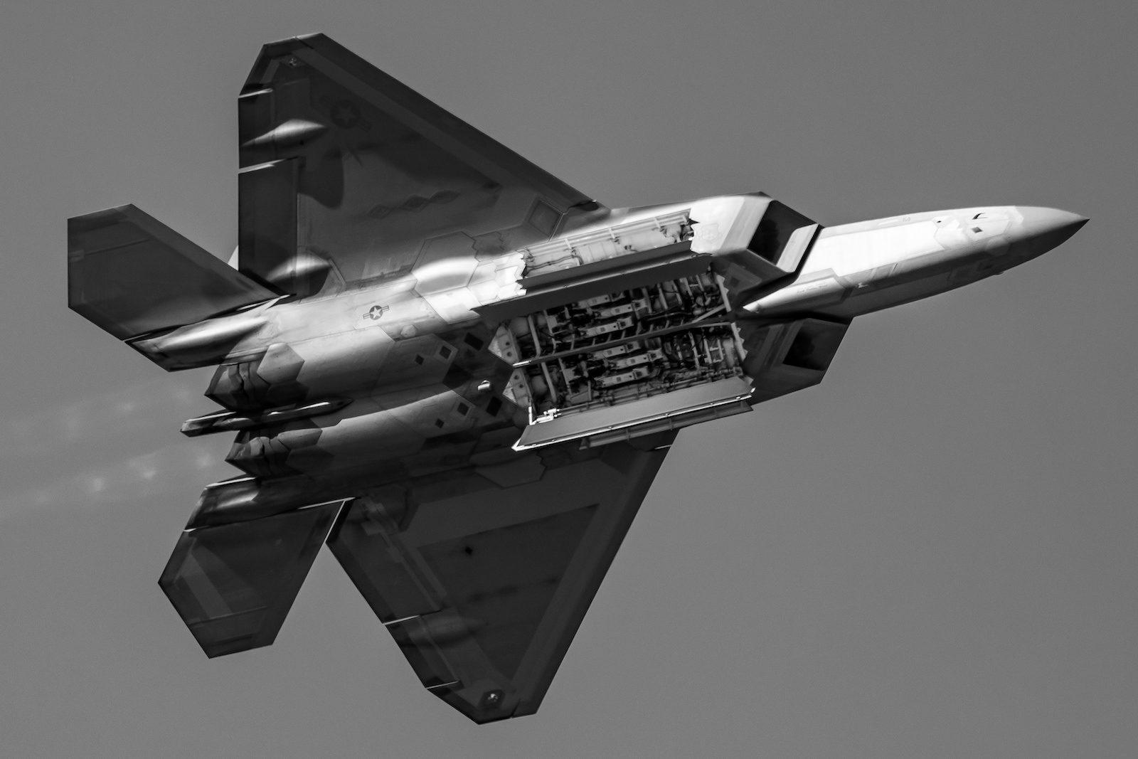 USAF F-22 Raptor at NAS Pensacola