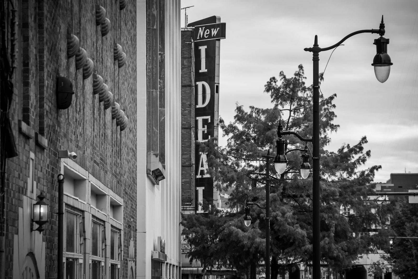 """New Ideal"" sign on 18th St N in Birmingham, AL"