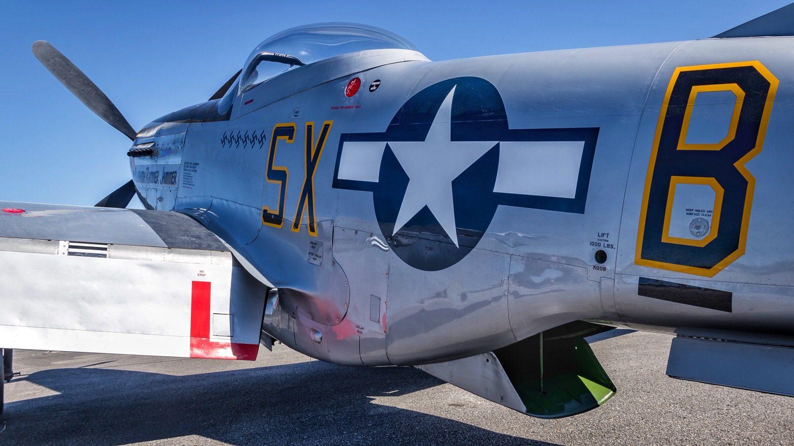 "TF-51 Mustang ""Yellow Hammer"""