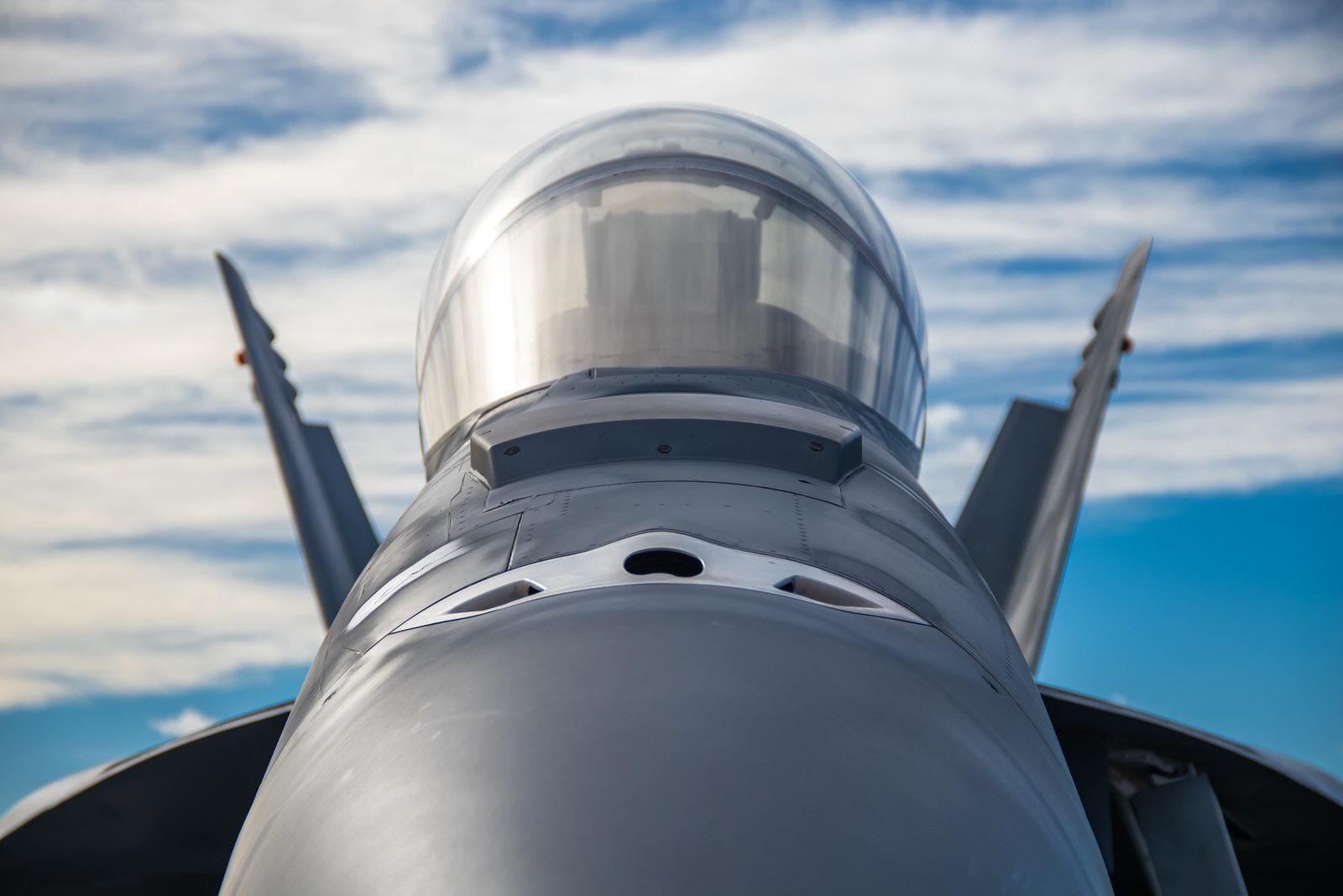 Jolly Roger F-18F Head On